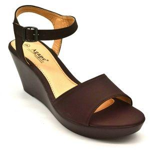 Agape Womens Pamela Sling Back Sandal Size 9 New